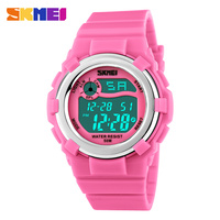SKMEI Children LED Digital Watch 50M Waterproof Kids Sports Watches Multifunction Electronic Boys Girls Students Wristwatches