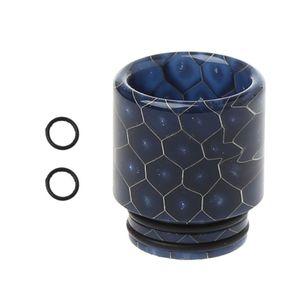 بالتنقيط تلميح جلد الثعبان الايبوكسي الراتنج 810 المعبرة ل TFV12 البخاخة RDA خزان RTA E السجائر Vape اكسسوارات