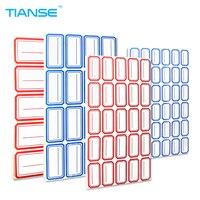 Tianse 650-10000 шт. самоклеющиеся этикетки стикер 65 листов пустой этикетки Метки бумаги memo для офисных документов Файл классифицированы Sticky