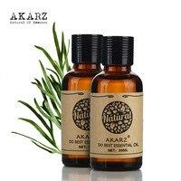 AKARZ Znane marki zestaw do pielęgnacji włosów naturalne aromaterapia olejek Jasmine rose hip Naprawy pielęgnacja twarzy Masaż Oleju 30 ml * 2