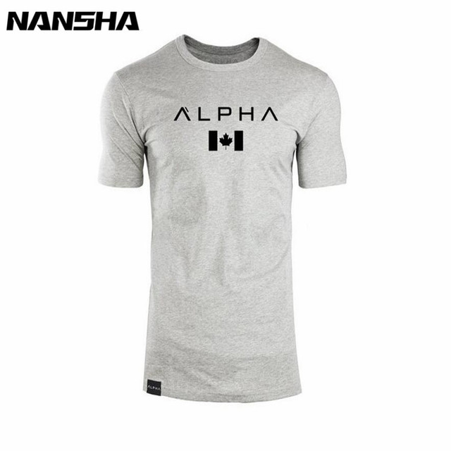 New  Clothing Fashion T Shirt Men Cotton Breathable Mens Short Sleeve Fitness t-shirt Gyms Tee Tight Casual Summer Top 2
