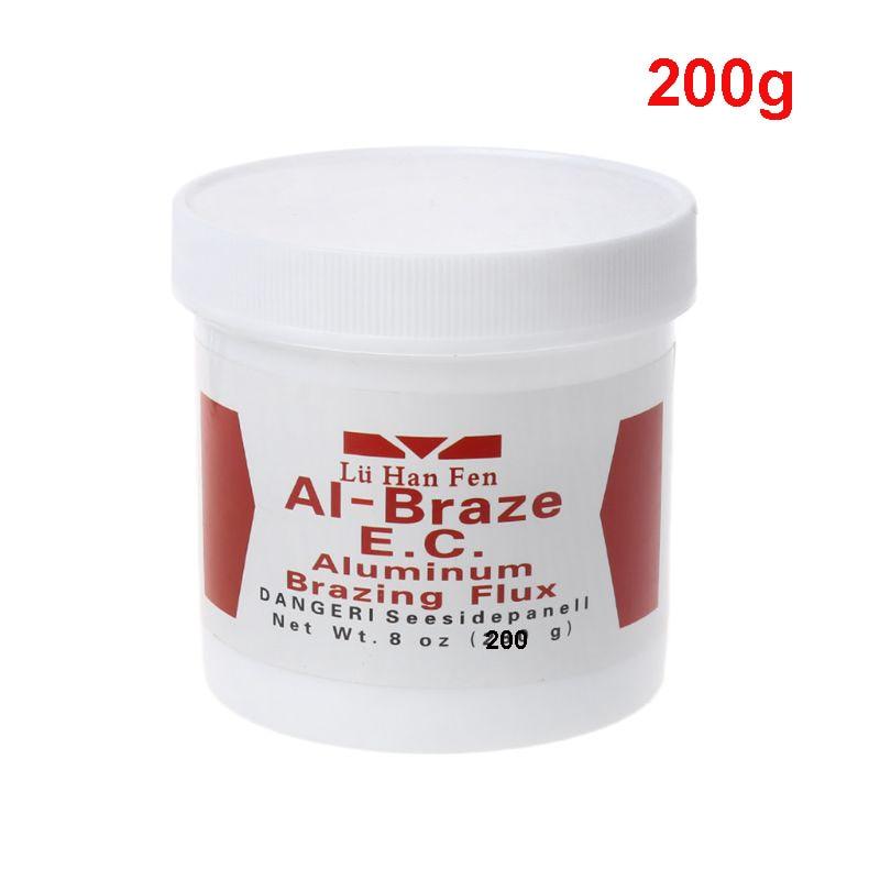 1 Bottle 200g Aluminum Brazing Flux Low Temperature Welding Powder Weld Accessories