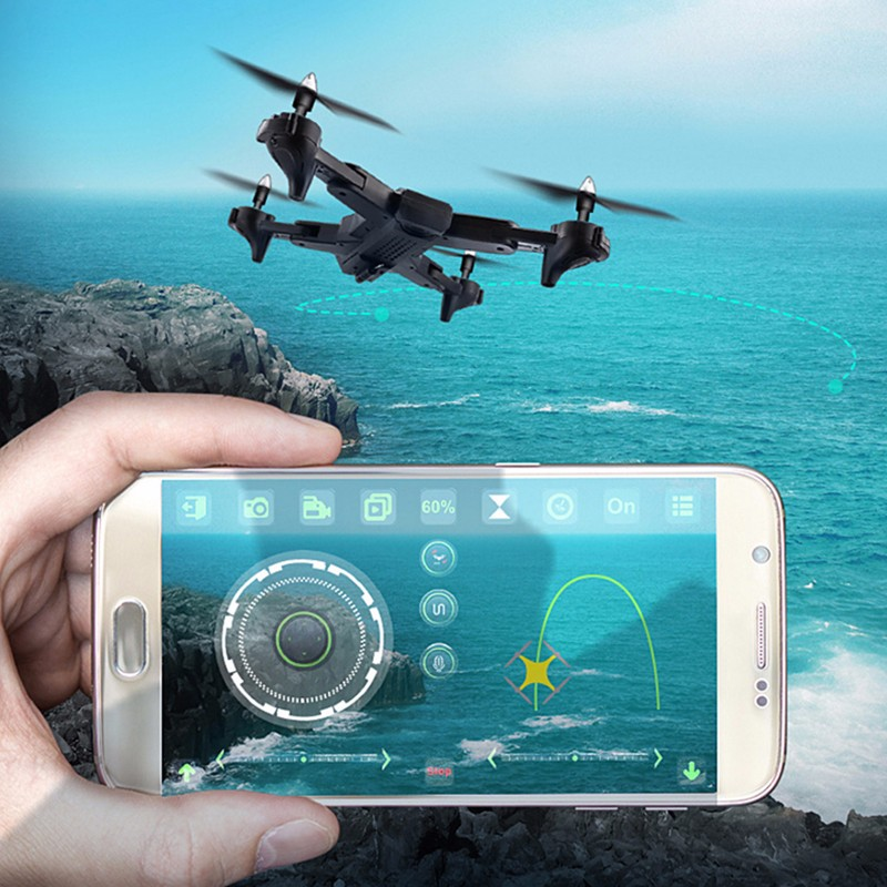 Drone X378 HD camera 1080P FPV drone folding Quadcopter one button takeoff fixed high hover RC helicopter flight time 20 minutes in RC Helicopters from Toys Hobbies