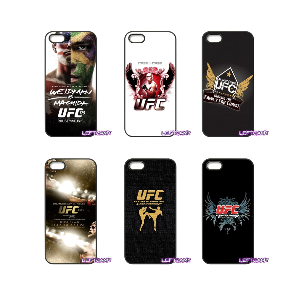 Super <font><b>UFC</b></font> Boxer Fighter Logo Hard Phone Case Cover For Samsung Galaxy Note 2 3 4 5 8 S2 S3 S4 S5 MINI S6 S7 edge Active S8 Plus image