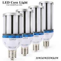 E27 E40 35W 45W 54W 65W Led lámpara de maíz luz campana montaje alto luces mazorca SMD5730 para almacén iluminación del hogar 110V 220V