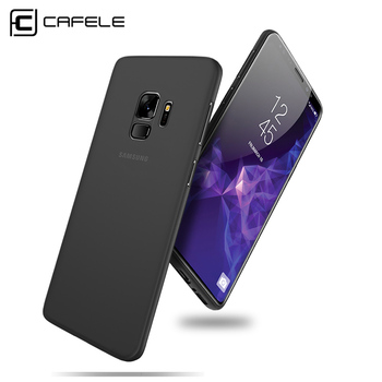 CAFELE Transparent Case for Samsung S9 Plus Ultra Thin PP Cover for Samsung Galaxy S9 Comfort Touch Seamless Protective Case