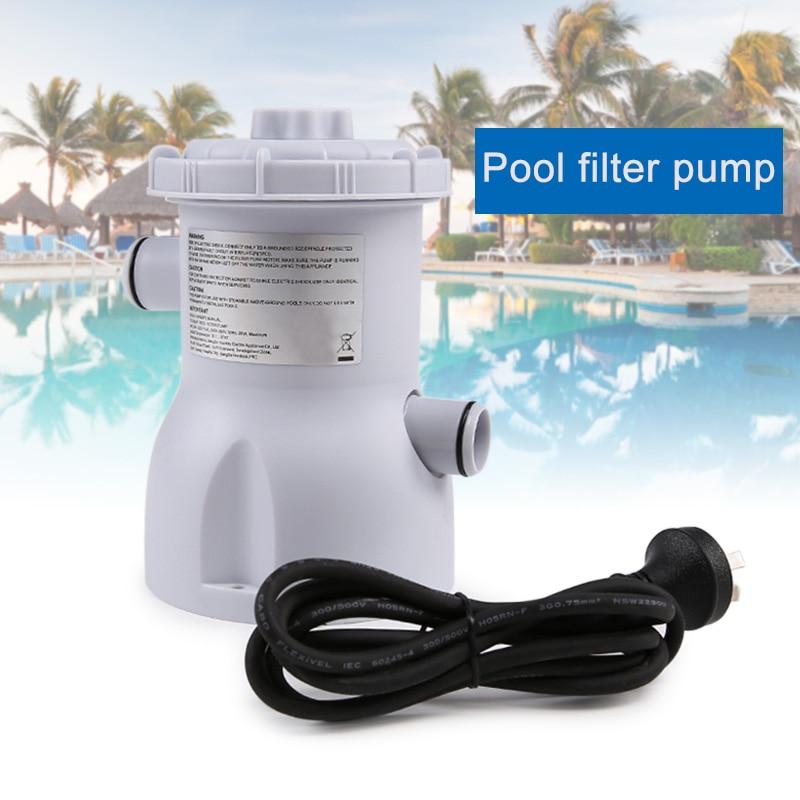 Pompe de filtre de piscine électrique pour nettoyage de piscines 220 V EDF88