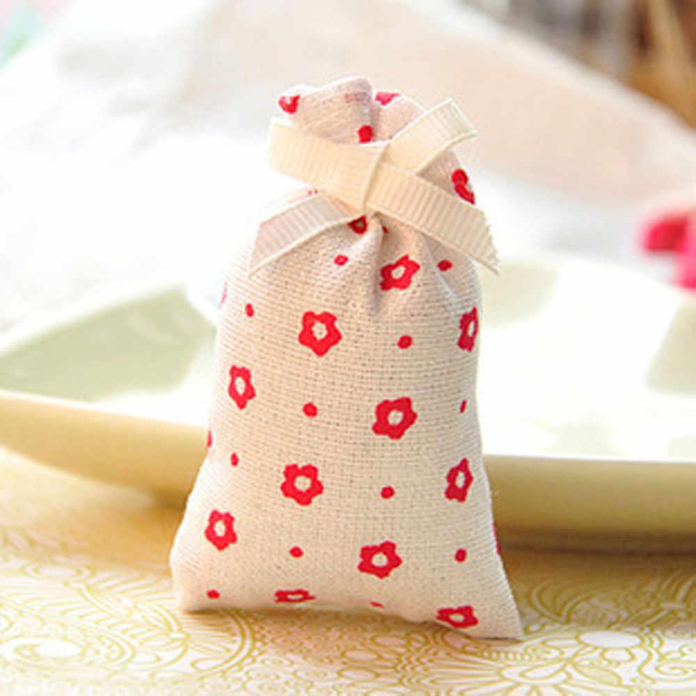 2019 Venda Quente Aroma Perfumado Quarto Cesta Armário Lavanda Rose Tulip Cheiro de Ar Limpo Saco Sachê Cheiro Especial Y