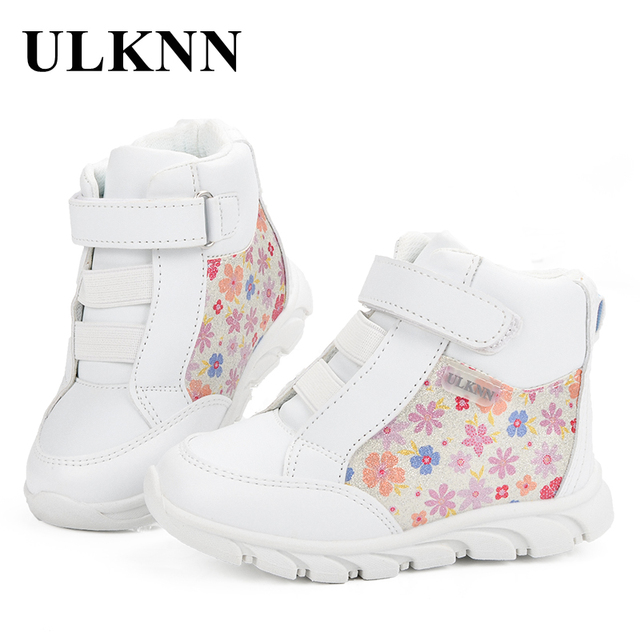 d8804ed1b9e64 ULKNN Baskets Pour Filles Sport Chaussures Enfants Sneakers Filles Marque  Fleurs Motif Solide Simple Mode chaussure