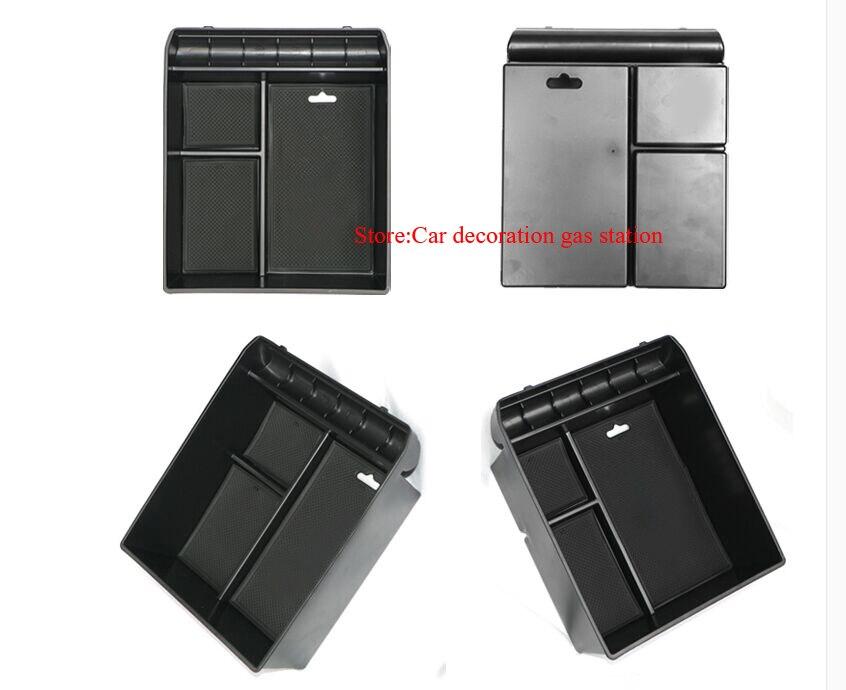 Rutschfeste Mittelarmlehne Container Verstauen Box Kühlschrank Abdeckung Matte Für toyota Land Cruiser Prado FJ 120 2003-2009 zubehör