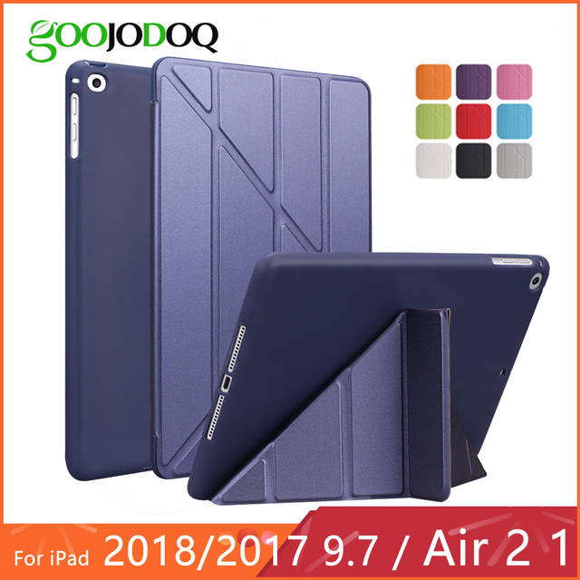 Smart Mutiple Folding Cover for iPad Air 2 / iPad 6th generation
