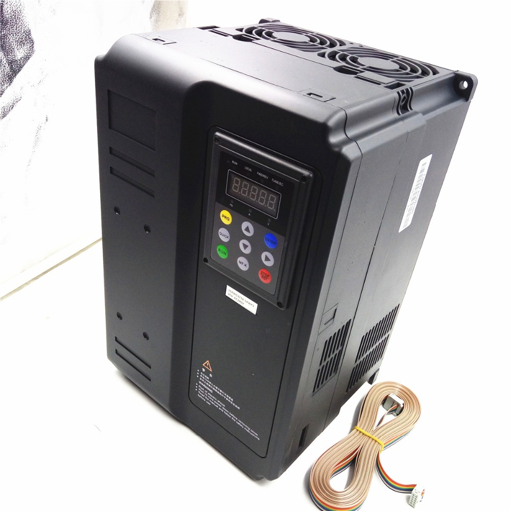 Frequency inverter 15kw vfd 20hp 3ph speed control output for Inverter for 3 phase motor