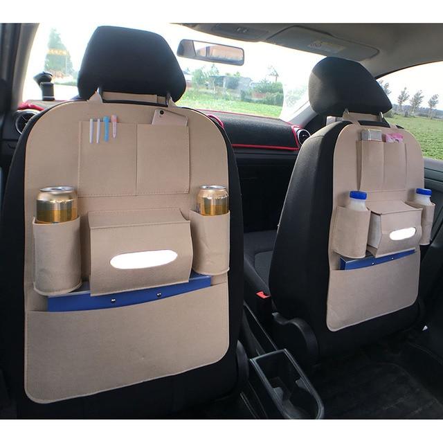 8762671ea876 New Car Back Seat Storage Bag Bottle Magazine Tissue Phone ...