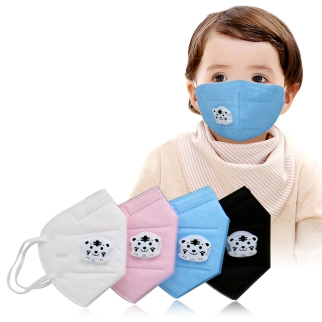 3Pcs Kids Mask Mouth Muffle Non Woven Fabric Cartoon Child Anti Dust Breathable
