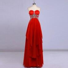 Cuadro verdadero rojo con cuentas imperio cintura vestidos noche elegantes para mujeres embarazadas vestido de fiesta vestidos de noche por encargo barato