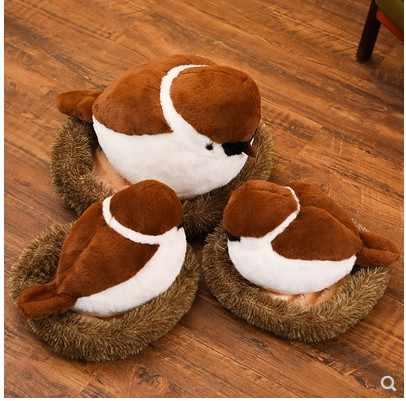 2019 mais novo Pardal Simulado Animal de pelúcia brinquedo de Pelúcia para As Crianças Presente de Aniversário