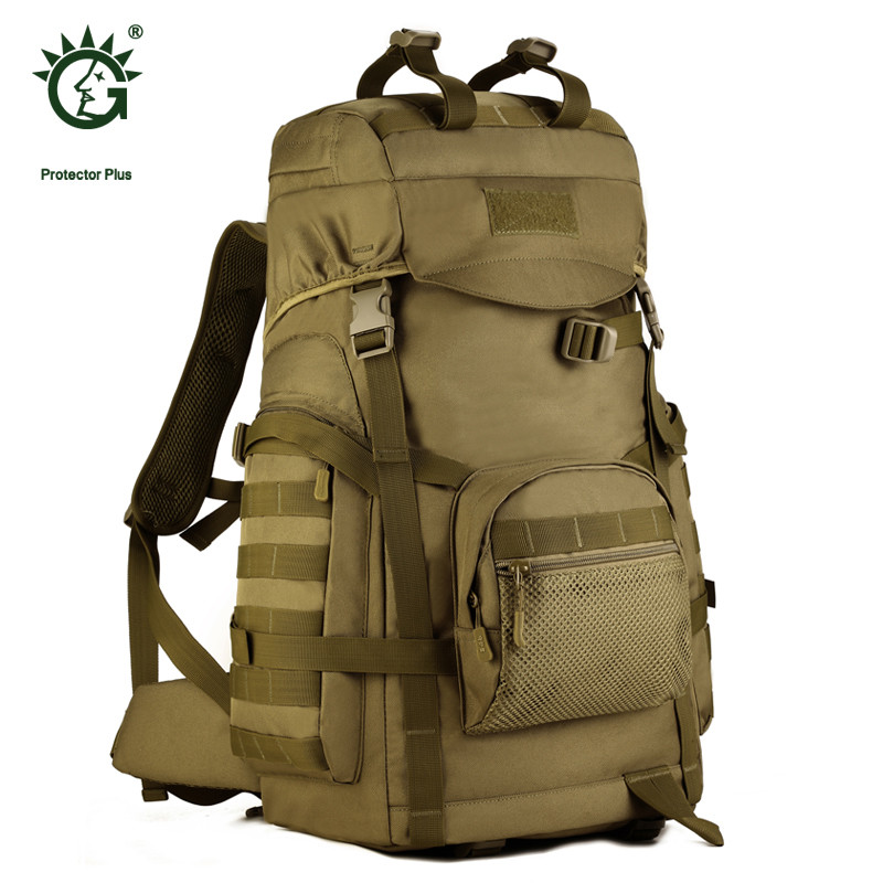 Casuaal Camouflage Military Printing Backpack Large-capacity High Quality Nylon Backpacks Multi-function 15 inch Laptop Bag P004 2017 hot sale men 50l military army bag men backpack high quality waterproof nylon laptop backpacks camouflage bags freeshipping
