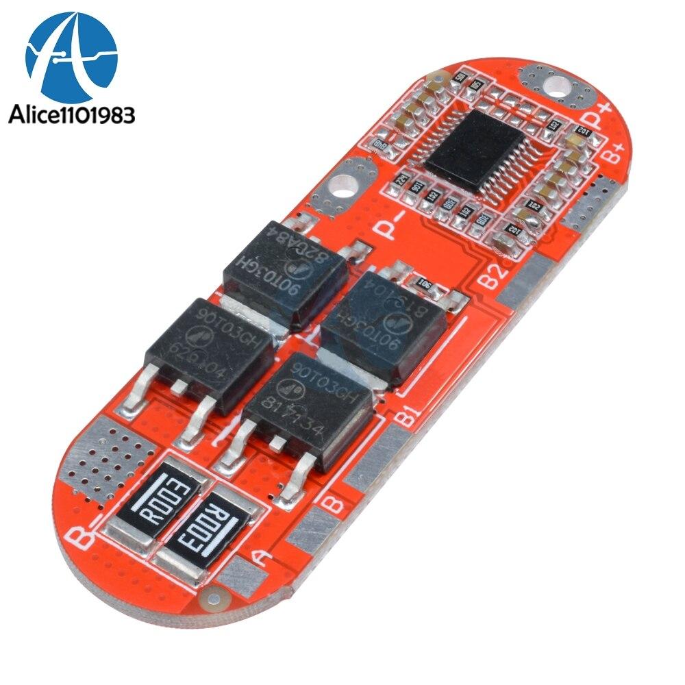 3s 18650 4a Bms Li Ion Battery Protection Board Pcb 111v 108v 20a Lithium Circuit 25a 126v 4s 168v 5s 21v