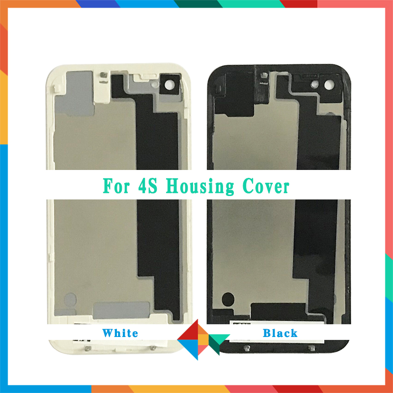 Back-Cover Door-Chassis iPhone 4 Glass for 4G 4S Battery Rear High-Quality