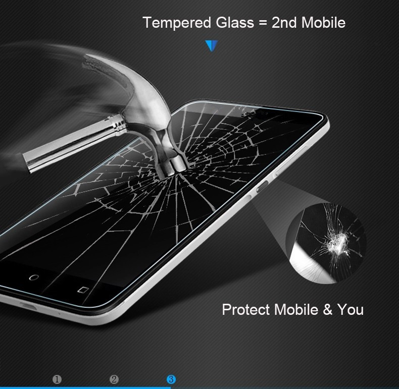 Image 2 - For Huawei Y3 2017 CRO U00 Tempered Glass For Huawei Y 3 2018 CRO L02 CRO L22 CRO L03 CRO L23 Screen Protector Protective Film-in Phone Screen Protectors from Cellphones & Telecommunications