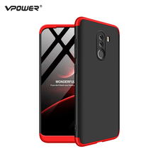 For Xiaomi Pocophone F1 Case Poco F1 Cover Vpower Three-In-One 360 Ful