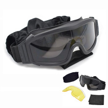 Army Military Sunglasses Men Shooting Paintball Airsoft Glas