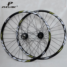 26 inch stout 24 hole clincher st 300 4 peilin cnc super light alloy rim mountain bicycle bike wheels aluminium bike wheel set MTB Bike Wheel 29 27.5 26 Wheelset 32 Holes Disc Brake Mountain Bike Wheels Six Hole Front 2 rear 4 Sealed Bearing 5mm 9mmx100mm