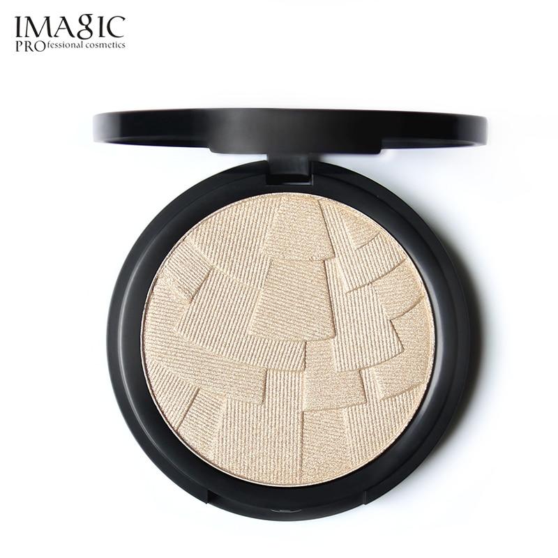 IMAGIC Visage Surligneur Poudre Palette Maquillage Shimmer Lumière Maquillage Poudre Surligneur Bronzer Cosmétiques