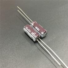 100 шт. 39 мкФ 63 В Nichicon серии ПМ 6.3×15 мм супер низкий импеданс долгий срок службы 63v39uf Алюминий электролитический конденсатор