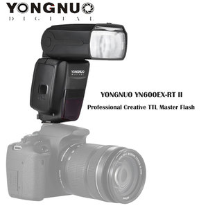 Image 4 - YONGNUO YN600EX RT II TTL Master Flash Speedlite for Canon Camera 2.4G Wireless 1/8000s HSS GN60 Support Auto/ Manual Zooming