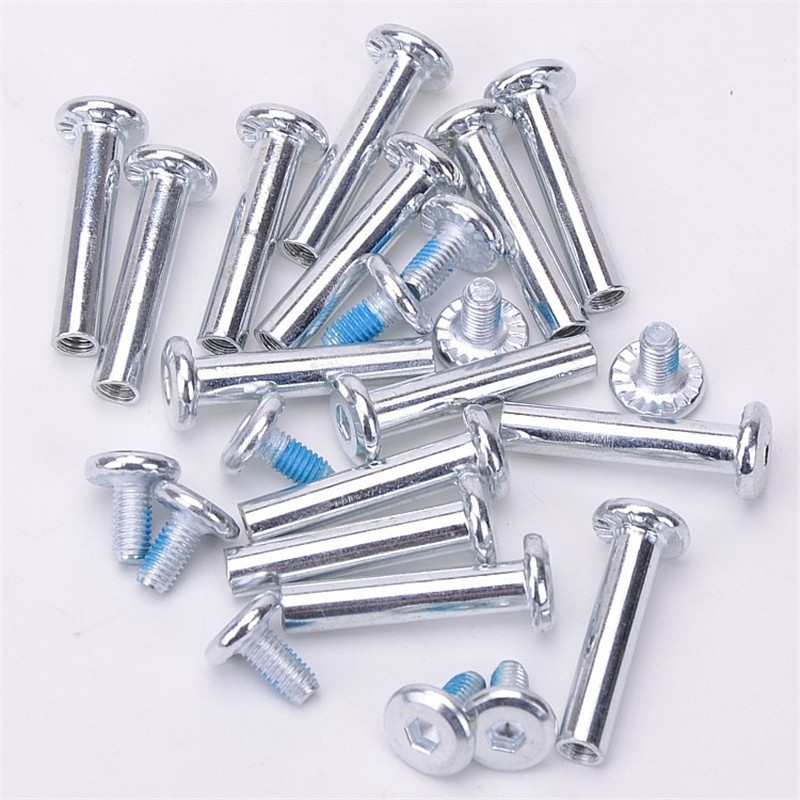 10PCS 6*31/36mm Axle Parts For Inline Roller Skates Shoes Aluminum Screws Accessories