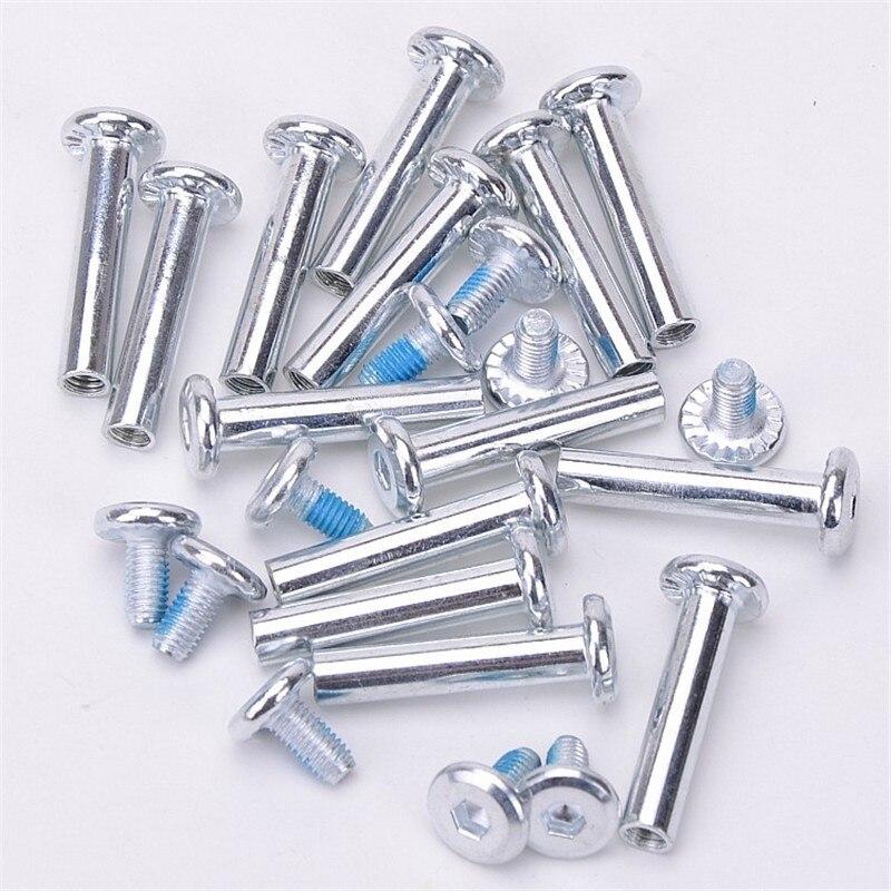 10PCS 6*31/36mm Axle Parts For Inline Roller Skates Shoes Aluminum Screws Accessories