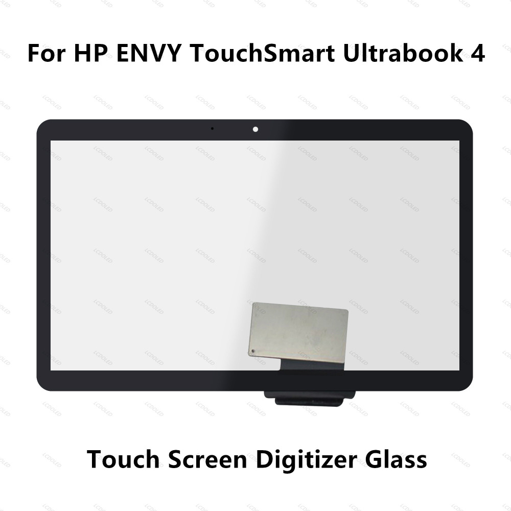 14'' Touch Screen Panel Digitizer Glass for HP ENVY TouchSmart Ultrabook 4 series 4-1103ea 4-1110et 4-1121tu 4-1130ei 4-1180sf 14 inch brand new glass digitizer sensor for hp envy touchsmart 4 1210tu ultrabook touch screen digitizer replacement feee ship