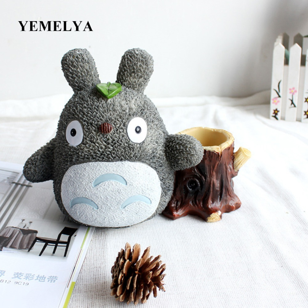 Anime  Craft  Doll Creative Totoro Piggy  Bank  Kids Toys Gifts For Children