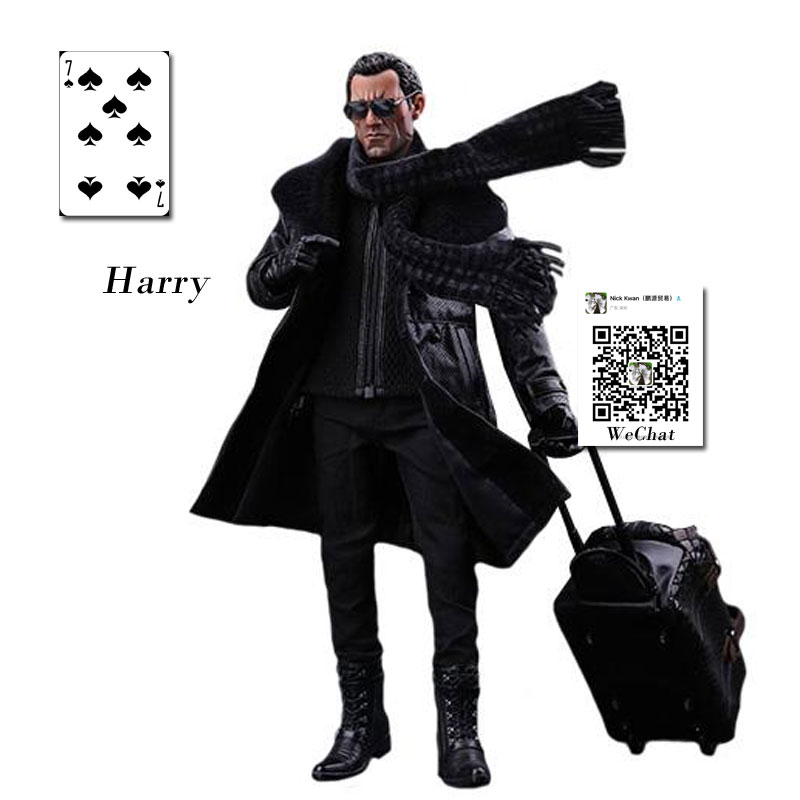 DAMTOYS 1/6 Scale Action Figure Model Toys <font><b>Gangsters</b></font> <font><b>Kingdom</b></font> Spade 7 Harry 12'' Figure Model Toy For Collection,Gift image