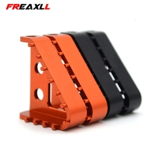 Motorcycle CNC Billet Aluminum Rear Brake Pedal Step Tips For KTM SX SXF EXC EXCF XCF XCW XC 125 150 250 300 350 450 500 2017 nicecnc cnc front brake clutch rear brake reservoir cover cap for ktm 125 150 250 300 350 450 500 530 sx xc exc xcw xcf sxf excf