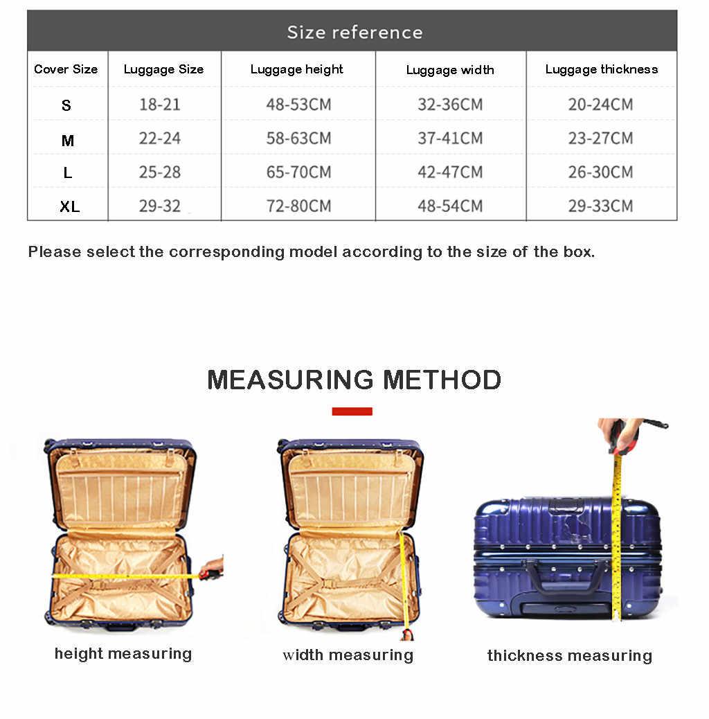 Багажник толще путешествия багаж защитный чехол багажник случае применяются к 18 ''-32'' Чемодан большой емкости чемодан Valise