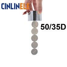 50/35D 60KG 600N Current Degauss Magnet Voltage Not Magnetic Electric Magnet Solenoid Sucker Electromagnet DC 12V 24V