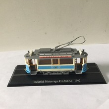 LIMITED 1:87 ATLAS Elektrisk Motorvagn 43 (ASEA)-1902 TRAM Model in perfect condition High Quality gift