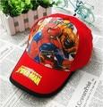 Kids High quality Spiderman Hats New Summer  Baseball Caps Girls Boy Hats Children Hat Baseball Caps Avengers