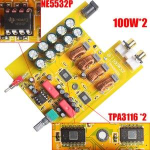 Image 5 - Breeze Audio amplificador de potencia Digital BA100 HiFi clase D, tpa3116d2 TPA3116 Advanced 2x100W, Mini caja de aluminio para el hogar