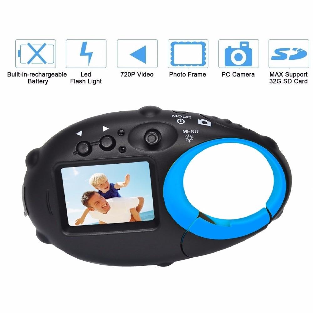 5MP 1.5 pouces enfants appareil photo numérique pour enfants bébé mignon dessin animé multifonction jouet appareil photo anniversaire meilleur cadeau pour enfants garçons filles