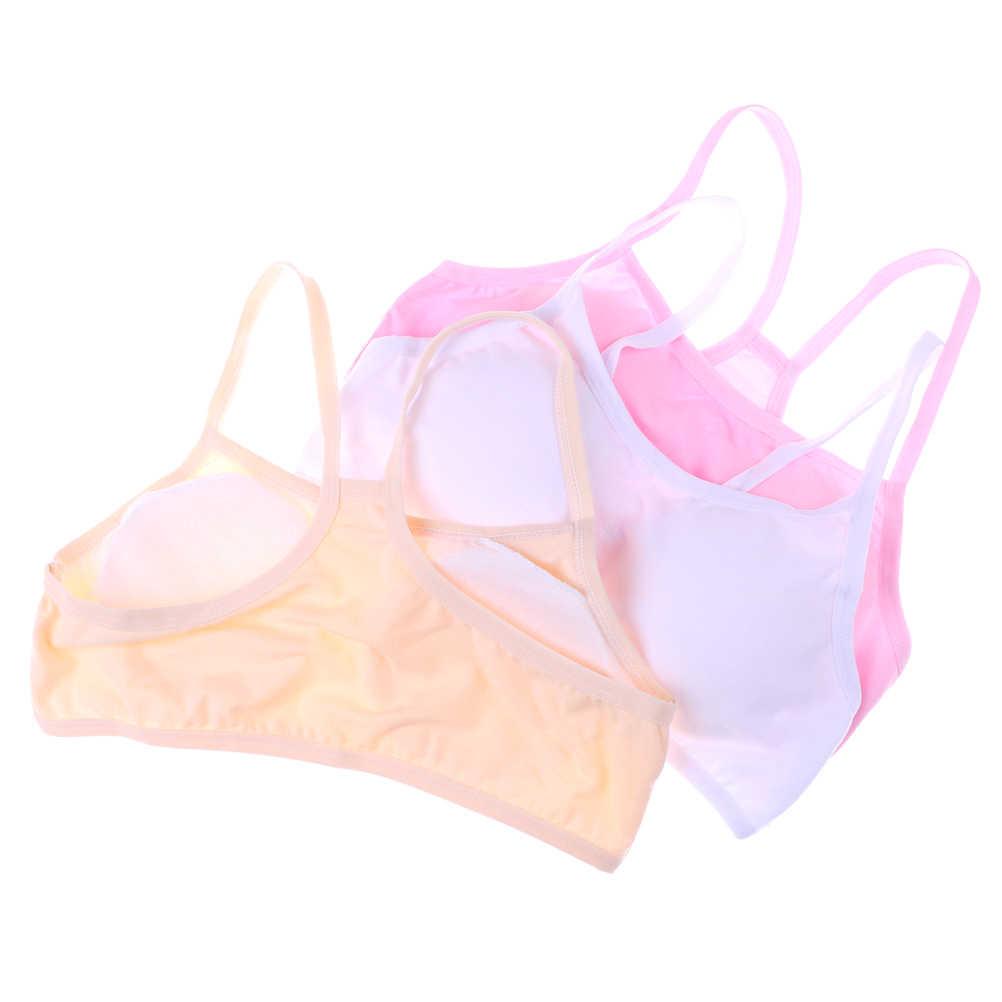 Cotton Girls Tank Top 4 12 Years Underwear For Children Girl Undershirts  Kids Singlets Baby Camisoles Bra Teenager|Tanks & Camis| - AliExpress