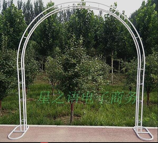 Arch support wedding props opening ceremony flower gate in Party DIY Decorations from Home Garden