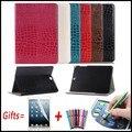 Cocodrilo Tablets cubierta para Samsung Galaxy Tab S2 9.7 t810 t815 t813n t819n elegante Funda de cuero para Samsung Galaxy tab S2 9.7