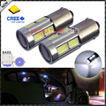 2pcs High Power 11W  HID White BA9S 1891 641 BA9 CRE'E XB-D LED Bulbs for Interior Map Dome Light Backup Parking Lights,etc