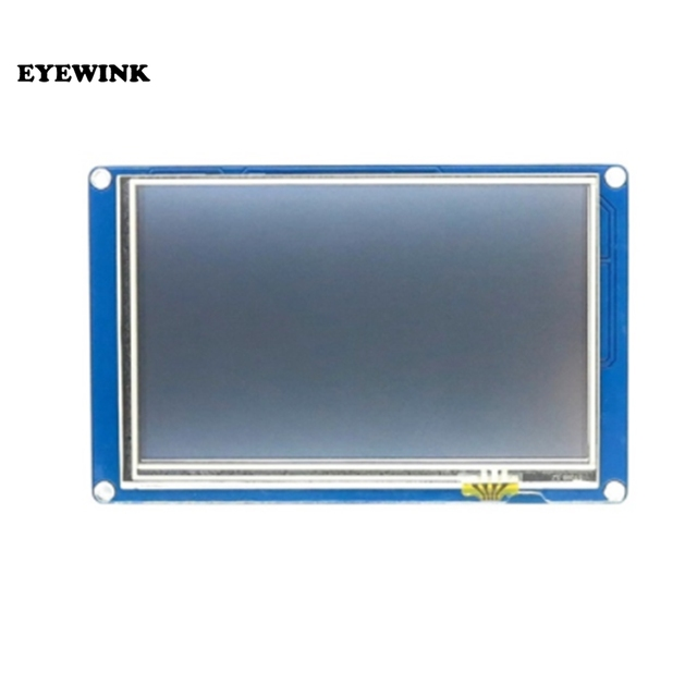"English Version Nextion 5.0"" HMI Intelligent Nextion LCD Module Display for Raspberry Pi ESP8266"