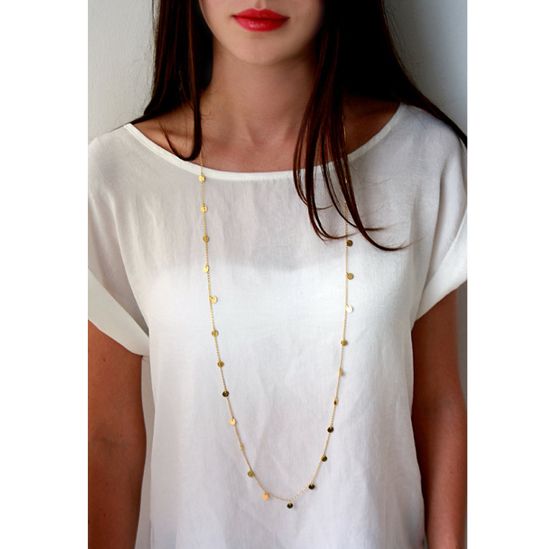Bohemia-collar-de-la-joyer-a-de-las-mujeres-Collares-de-la-moneda-de-oro-collar