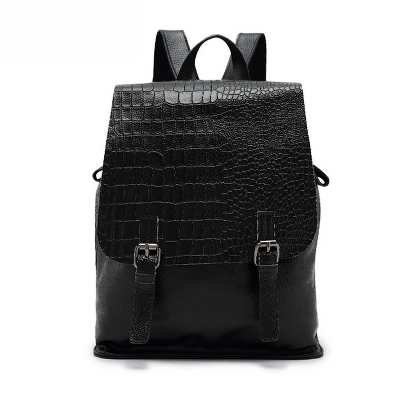 2017 Fashion Women Backpack School Bags For Teenagers Girls Preppy Style PU Leather Bag Hasp Female Backpacks 2017 new fashion backpacks men travel backpack women school bags for teenagers girls pu leather preppy style backpack