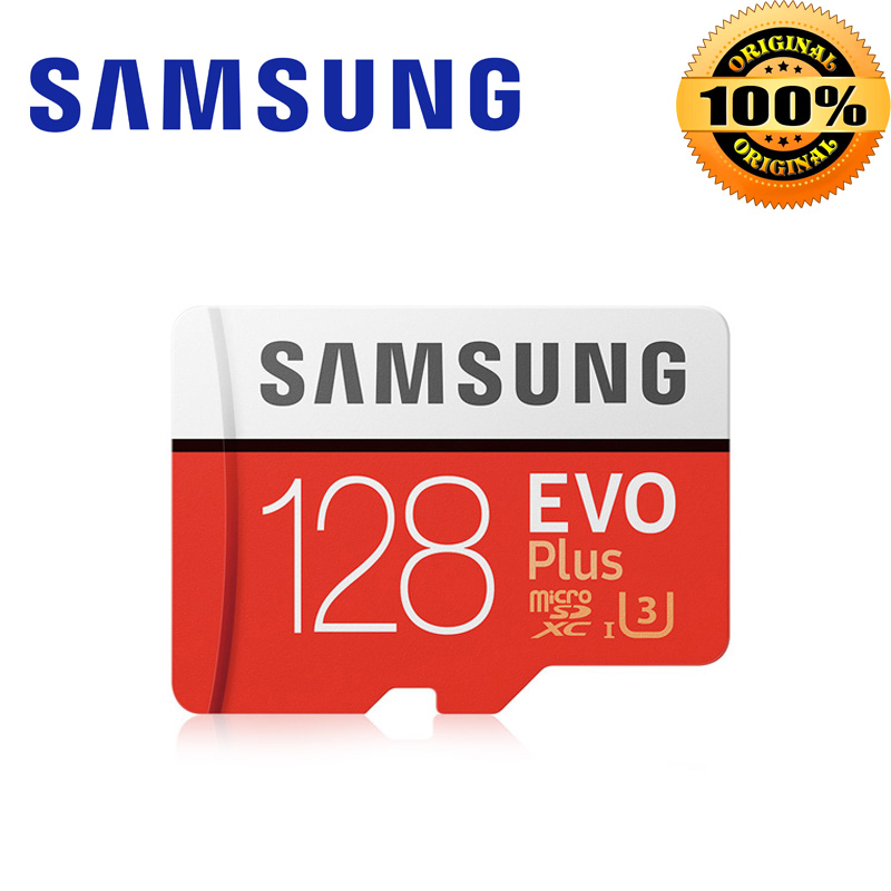 Samsung Micro SD Card 64GB 128GB Microsd 256 GB sdhc 32GB EVO PLUS Memory Card Class 10 Mini SD Card 16GB SDXC 4k U3 red TF card